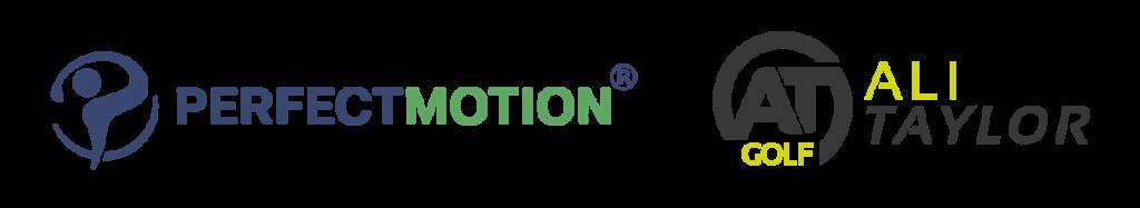 ali taylor x perfect motion logos